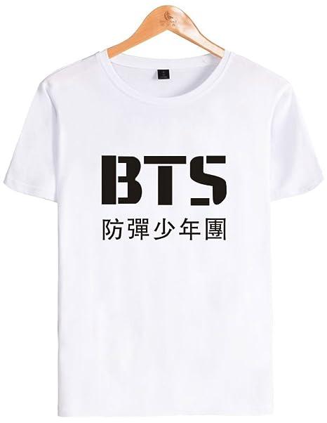 SERAPHY Unisex KPOP Camiseta Bangtan Boys BTS Camiseta para Army Suga Jimin  Jung Kook J-Hope Rap-Monster V  Amazon.es  Ropa y accesorios 6073191bc0f