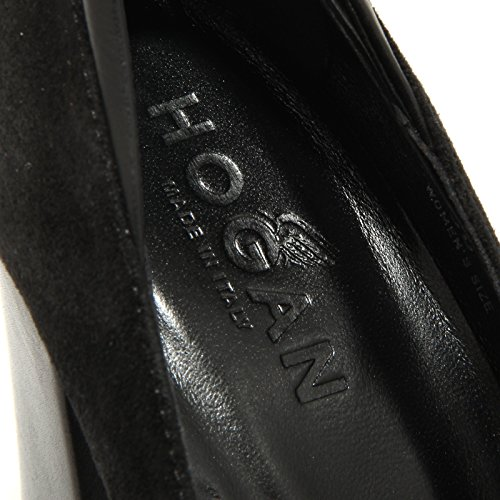 HOGAN Nero H189 donna scarpa decollete shoes women nero 66997 Zn5WT7xwqW