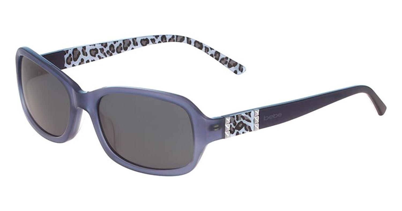 Sunglasses bebe BB7138 BB 7138 Powder Blue at Amazon Mens ...
