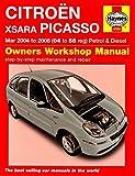 Citroen Xsara Picasso Petrol and Diesel Service and Repair Manual: 2004 to 2008 (Service & repair manuals) by Martynn Randall (7-Nov-2014) Hardcover