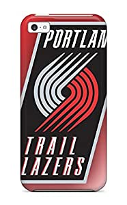 Best basketball nba portland trail blazers NBA Sports & Colleges colorful iPhone 5c cases 3785588K878408880