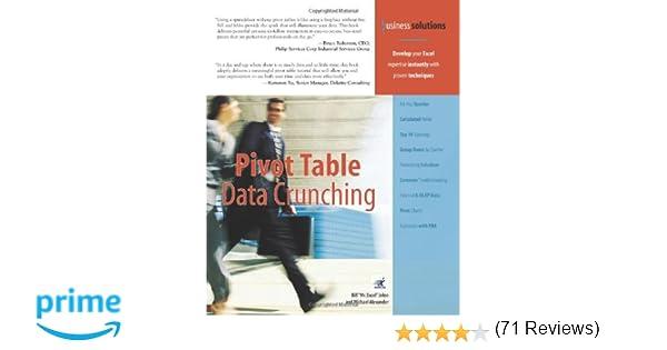 Amazon.com: Pivot Table Data Crunching (9780789734358): Bill Jelen ...