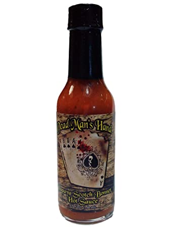 Dead Mans Hand Papaya Scotch Bonnet Hot Sauce