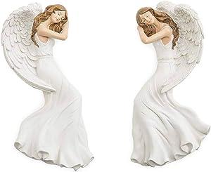 Wind & Weather Door Corner Holiday Angels, Set of 2