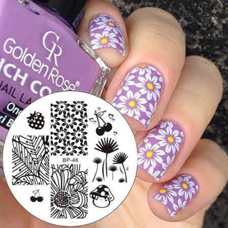 Nail Art Stamping Bild Metal Platte Nail Art Design Muster Vorlage Katze - AP59 - FashionLife