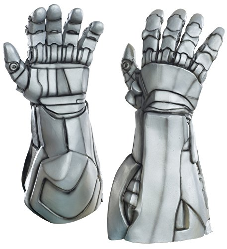 Halloween Costume Accessories Avengers 2 Ultron Deluxe Latex Hand Gloves (Deluxe Costume Gloves)