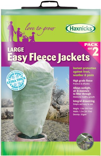 Living European Patio Planter Concepts (Tierra Garden 50-8000 Haxnicks Easy Fleece Jacket, 2-Pack, Large)