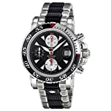 Montblanc Sport Chronograph Automatic Stainless Steel and Black Rubber Mens Watch 102359