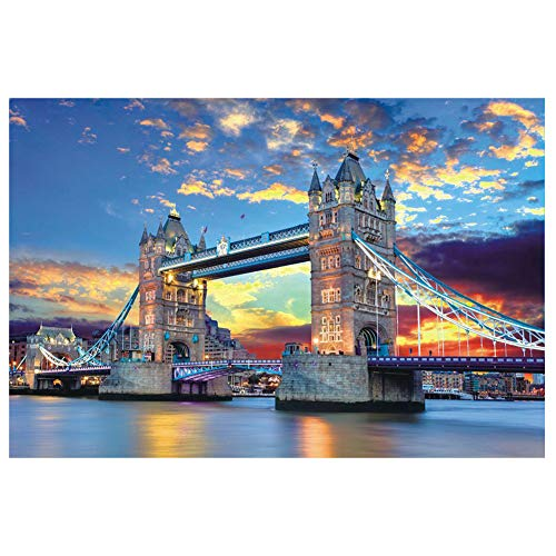 🥇 1000 Piece Famous Scenery Jigsaw Puzzle for Kids Adult
