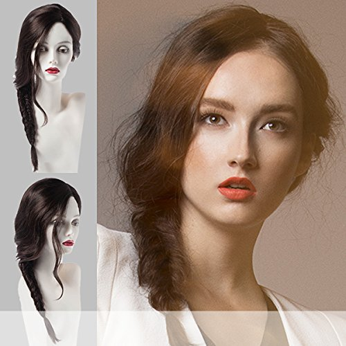 Price comparison product image Forever Young (The Philo Side Braid) - Synthetic Lace Front Wig in GBH