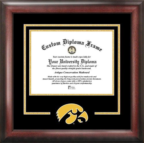 Campus Images University of Iowa Spirit Diploma Frame