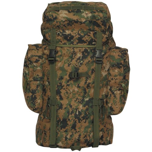 Digital Woodland Camouflage Rio Grande Backpack (45L), Outdoor Stuffs