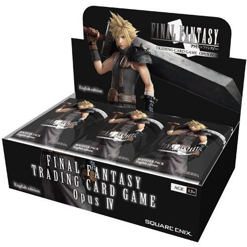 Game 4 Booster Pack (Final Fantasy TCG: Opus IV Collection Booster Display)