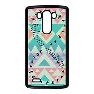 Hakuna Matata LG G3 Cell Phone Case Black K3951331