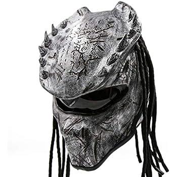 Amazon Com Predator Motorcycle Helmet Sni Approved Unisex