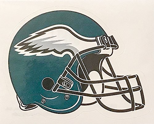 (aa g 4 Pack Philadelphia Eagles Die Cut Stickers NFL Football Helmet Logo Sticker Team Set Philly The Birds)