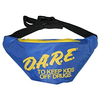 X80 Blue DARE Neon Fanny Pack - Waist Pack