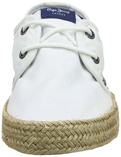 Bianco Cruise Espadrillas Sailor Pepe Uomo Deck Jeans White zwZTTq