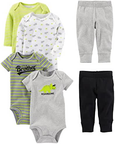 Simple Joys by Carter's Baby Boys' 6-Piece Little Character Set
