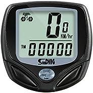 axGear Bike Speedometer LCD Wireless Bicycle Computer Odometer Cadence Waterproof