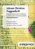 img - for Biographisch-literarisches Handworterbuch der exakten Naturwissenschaften, Johann Christian Poggendorff: Datenbank / Database (German Edition) book / textbook / text book