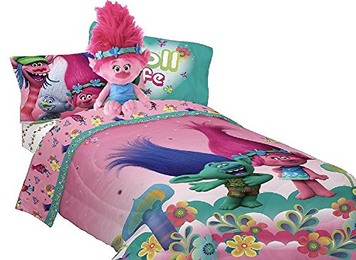Trolls Complete Reversible Comforter Pillow product image