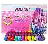 Hair Chalk for Girls Kids Temporary Hair Color 12