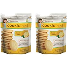 Thinster's lemon cookie thins 16 oz (pack of 2)