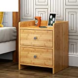 Bamboo storage cabinet Simple modern small locker Bedside table Simple bedroom locker Filing cabinets Bedside cabinets Bedside cupboard-B