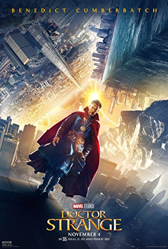 Doctor Strange Movie Poster Limited Print Photo Benedict Cumberbatch Size 24x36 #1