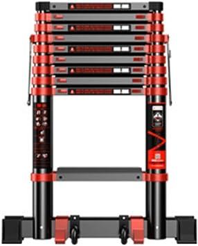 Extensibles Escalera recta Escala telescópica Inicio Juntas grandes Protección doble Plegable Interior Exterior (Size : 5.9m(19.3ft)): Amazon.es: Bricolaje y herramientas