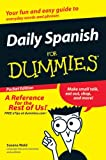 img - for Daily Spanish for Dummies Pocket Edition book / textbook / text book