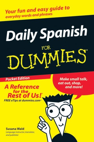 Daily Spanish for Dummies Pocket Edition