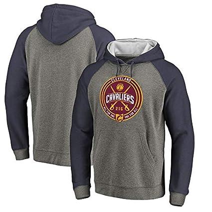 CHERSH Cavaliers Cavaliers con Capucha NBA Sudadera con Capucha for Hombre Camiseta de Baloncesto Camiseta Deportiva for j/óvenes
