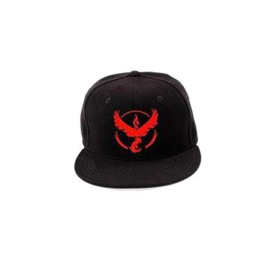 Pokemon Gorro de Go Team Instinct Valor Mystic Team Cap hip-hop ...