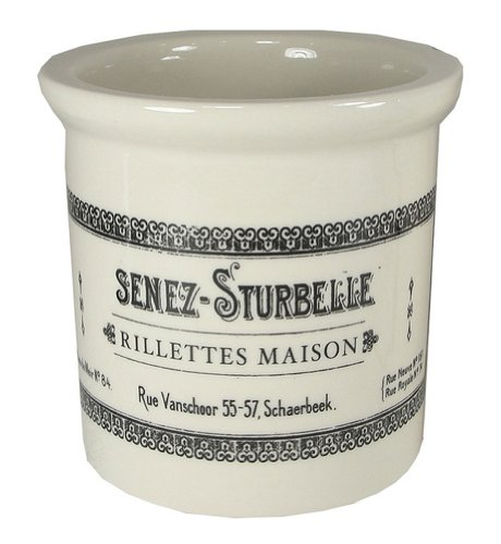 Stoneware Vintage Reproduction Labels 4 Rillettes