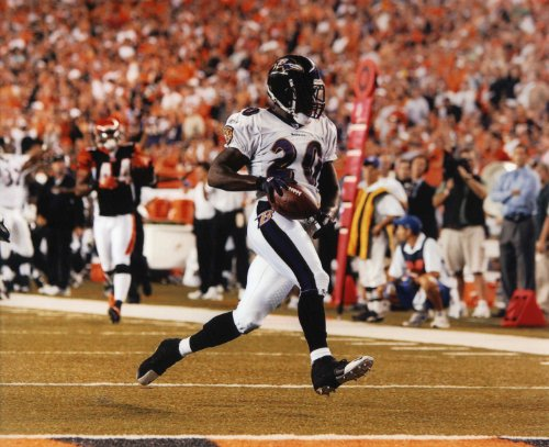 Baltimore Ravens Nfl 8x10 Photo - ED REED BALTIMORE RAVENS 8X10 HIGH GLOSSY SPORTS ACTION PHOTO (O)