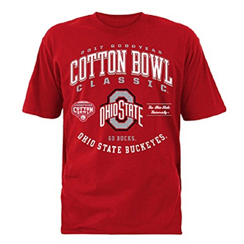 2017 Goodyear Cotton Bowl Ohio State Mens Short Sleeve Tee  Xlarge