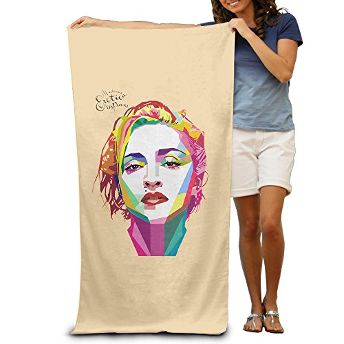 [LCYC Madonna Rebel Heart Concert Adult Vibrant Beach Or Pool Hooded Towel 80cm*130cm] (Max Fisher Costume)