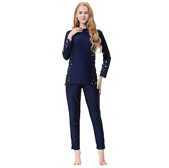 Pingtr - Muslim Sunscreen Damen Swimwear - Bademode + Bademode + Hijab