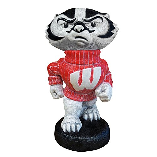 Stone Mascots - University of Wisconsin ''Bucky Badger'' College Stone Mascot by Stone Mascots