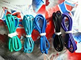 Fosheng Purple Cable Cord for Beats by Dr.Dre PRO/DNA/Solo/Solo HD/MIXR/Studio/Iphones
