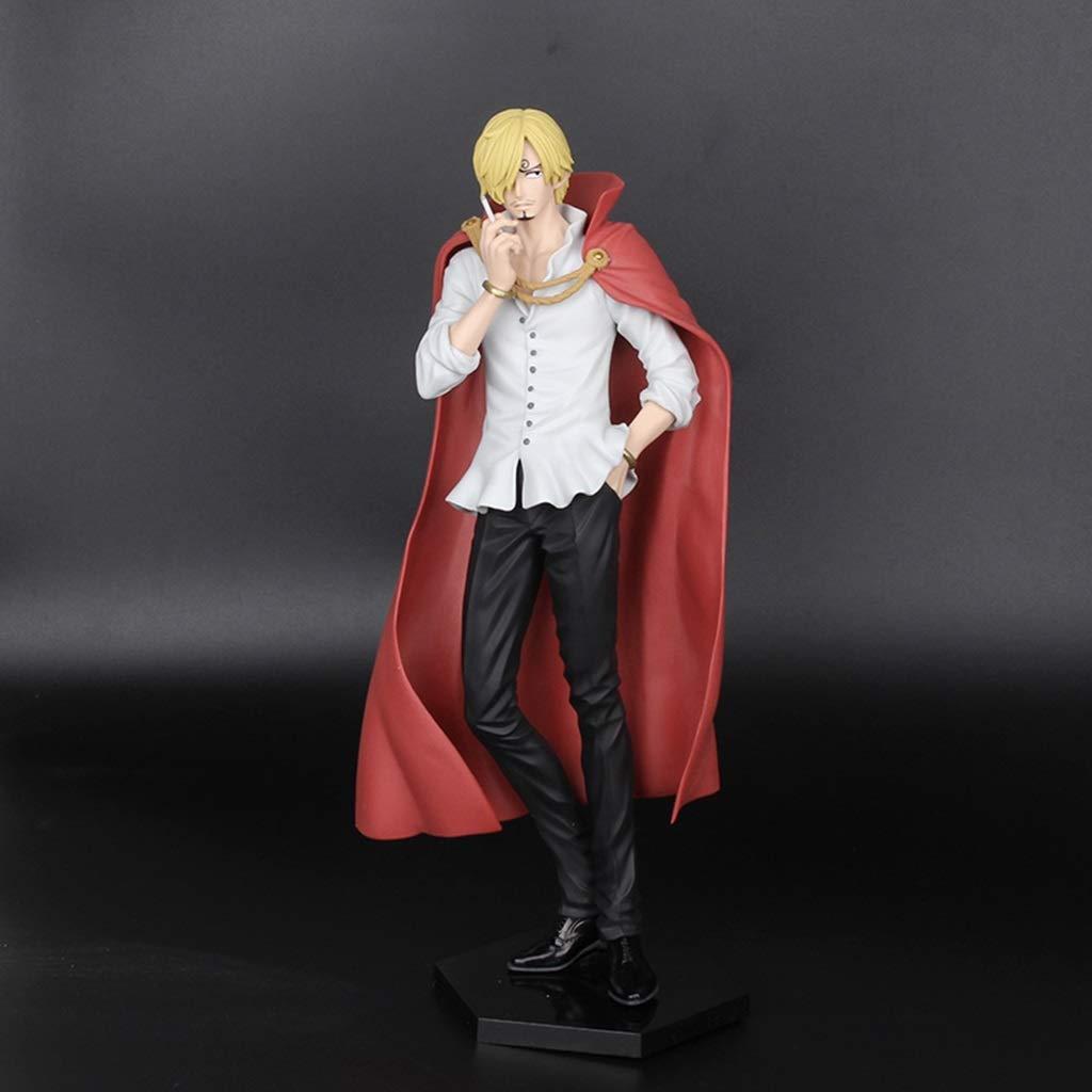 BBJOZ Modèle One Piece Modèle Sanji Modèle de Jouet de Film Anime Static Craft Sculpture Hauteur de 26 cm Sculpture