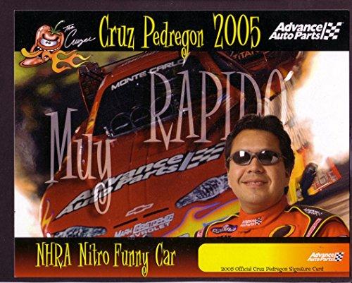 (CRUZ PEDREGON NHRA HERO CARD NITRO FUNNY CAR 2005 VF)