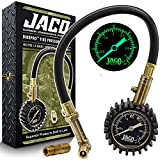 Best Bike Tire Gauges - JACO BikePro Presta Tire Pressure Gauge 60 PSI Review