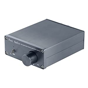 TDA7498E 2 Channel Stereo Audio Amplifier Receiver Mini Hi-Fi Class D Integrated Amp for Home Speakers 160W x 2 + 24V Power Supply