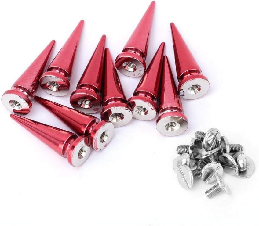 AERZETIX Set di 10 rivetti clip inserto speciale compatibile con OEM 7703077117 C42913
