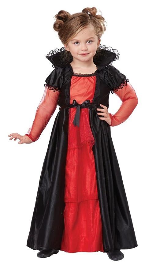 California Costumes V&ire Girl Costume One Color 3-4  sc 1 st  Amazon.com & Amazon.com: California Costumes Vampire Girl Costume One Color 3-4 ...