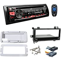 1997-2002 JEEP WRANGLER TJ JVC KD-R370 Stereo/CD Player Receiver + Splash Guard