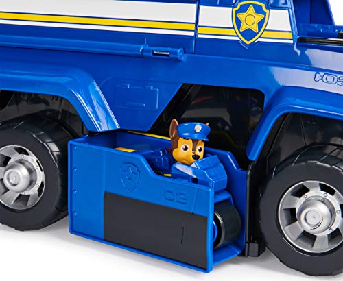 Paw Patrol, Chase's 5-in-1 Ultimate Cruiser with Lights and Sounds, for Kids Aged 3 and up